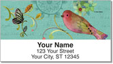 Bohemian Chic Address Labels
