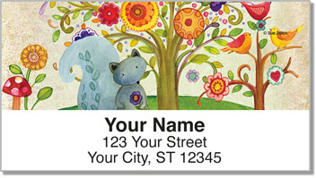 Zipkin Tree of Life 2 Address Labels