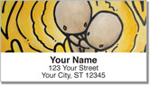 Babybol Love Over Distance Address Labels