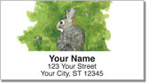 Serene Watercolor Address Labels