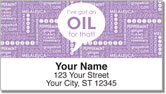 Essential Oils Address Labels
