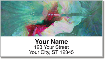 Floral Abstracts 2 Address Labels