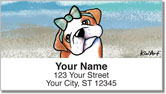Bulldog Series Address Labels