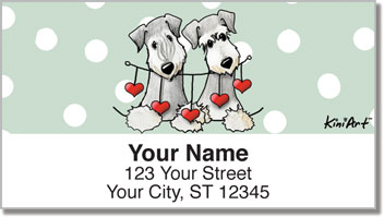 Cesky Terrier Address Labels