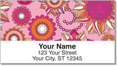 Debra Valencia Sunflower Address Labels