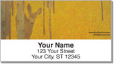 Grossmann Deer Address Labels