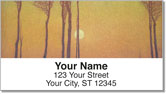 Poetic Landscape Address Labels