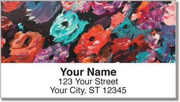 Colorful Expressions Address Labels