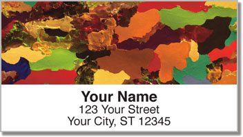 Color Map Address Labels