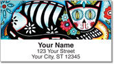 Farley Day of the Dead Address Labels