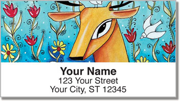 In the Garden Address Labels