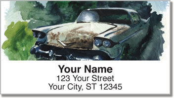 Car Address Labels