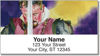 Knighted Address Labels