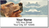 Car Canines Address Labels
