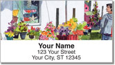 Outdoor Scene Sketches Address Labels