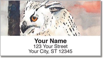 Owls Address Labels