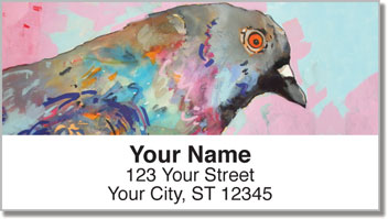 Pigeons Address Labels