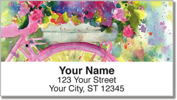 Spring Time Address Labels