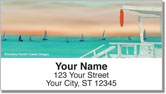 On the Beach Address Labels