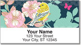 Birds and Blooms Address Labels