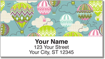 Blown Away Address Labels