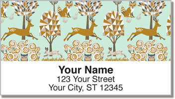 Enchanted Forest Address Labels