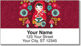 Riding Hood Address Labels