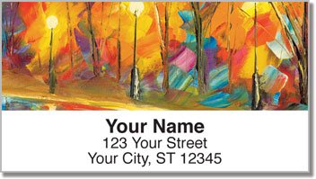 Evening Magic Address Labels