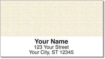 Gold Linen Address Labels