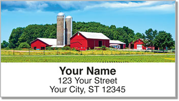 On the Farm Address Labels