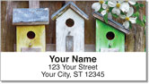 Country Birdhouse Address Labels