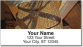 Fish Basket Address Labels