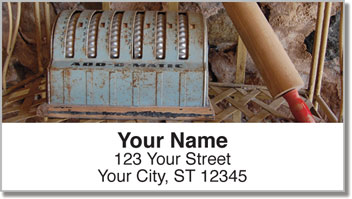 Antique Tool Address Labels
