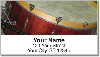 Drum Address Labels