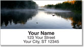 Morning Fog Address Labels