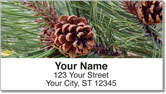 Pine Tree Address Labels