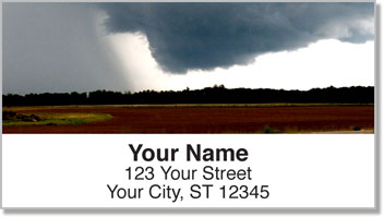 Summer Storm Address Labels