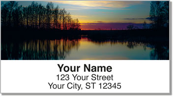 Sunset Address Labels