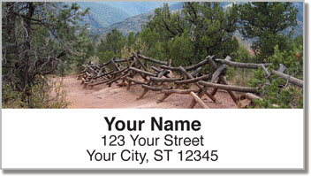 Nature Trail Address Labels