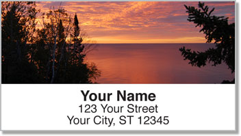 Scenic Sundown Address Labels