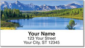 Mountain Water Address Labels