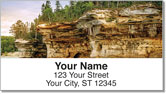 Mineral Streak Address Labels