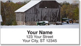 Barnyard Scene Address Labels