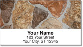 Masonry Address Labels
