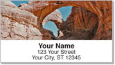Natural Arch Address Labels