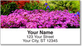 Peaceful Garden Address Labels