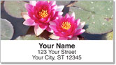 Water Lily Address Labels