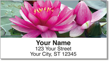 Fragrant Water Lily Address Labels