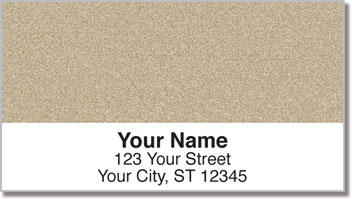 Sand Address Labels