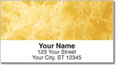 Gold Marble Address Labels
